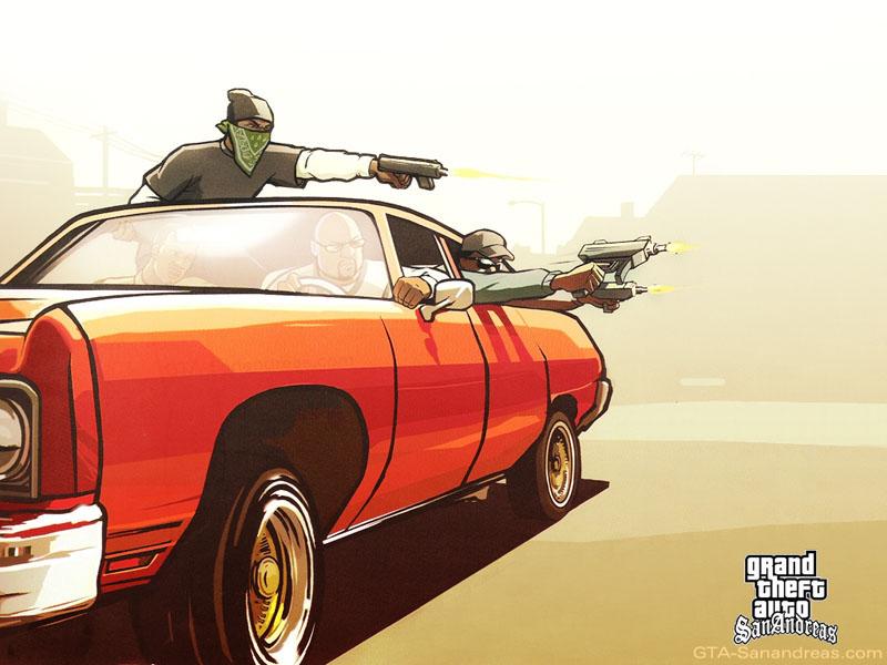 GTA-SanAndreas.com - Desktop Backgrounds