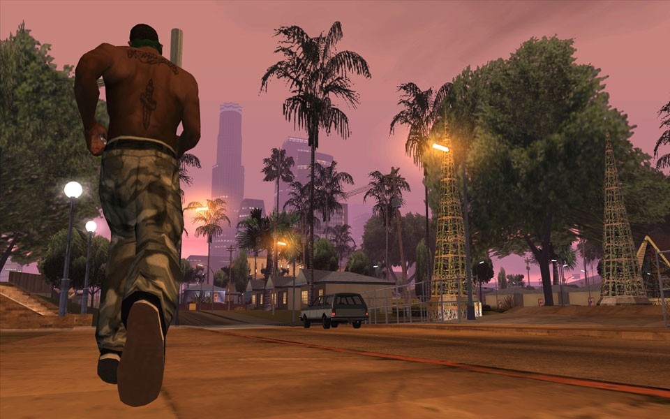 تحميل لعبة جاتا سان اندريس - Grand Theft Auto: San Andreas